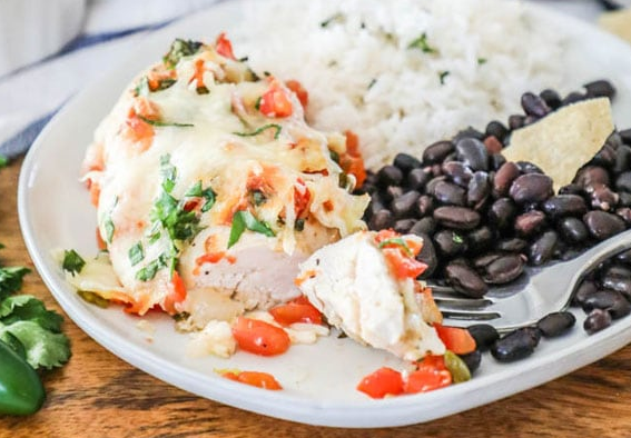 Salsa Fresca Chicken #healthy #recipe