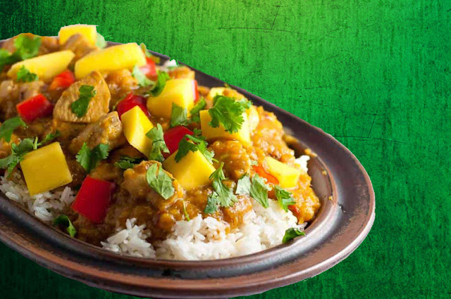 Thai Mango Chicken Curry Recipe