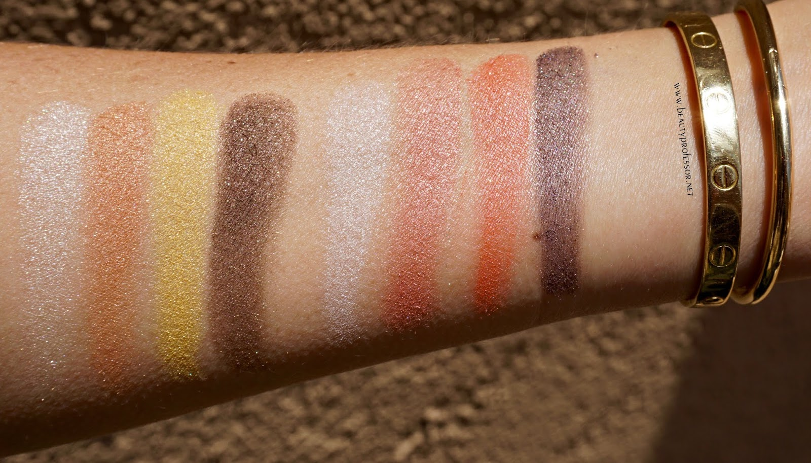 suqqu summer 2018 swatches eyeshadow