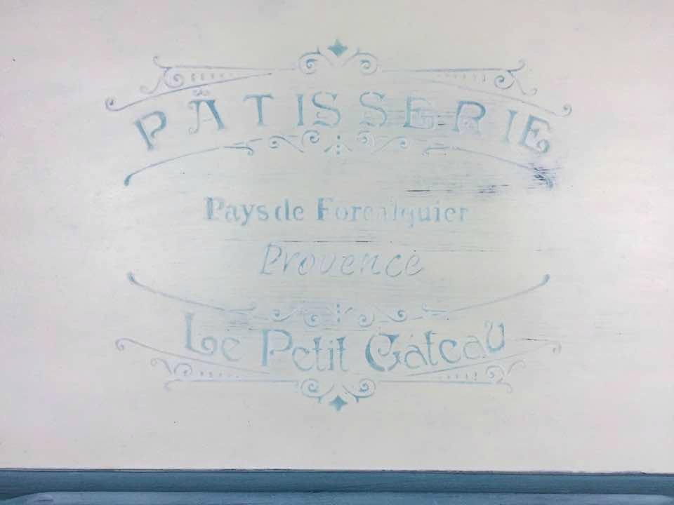 French stencil.