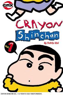 Komik manga crayonshinchan shinchan