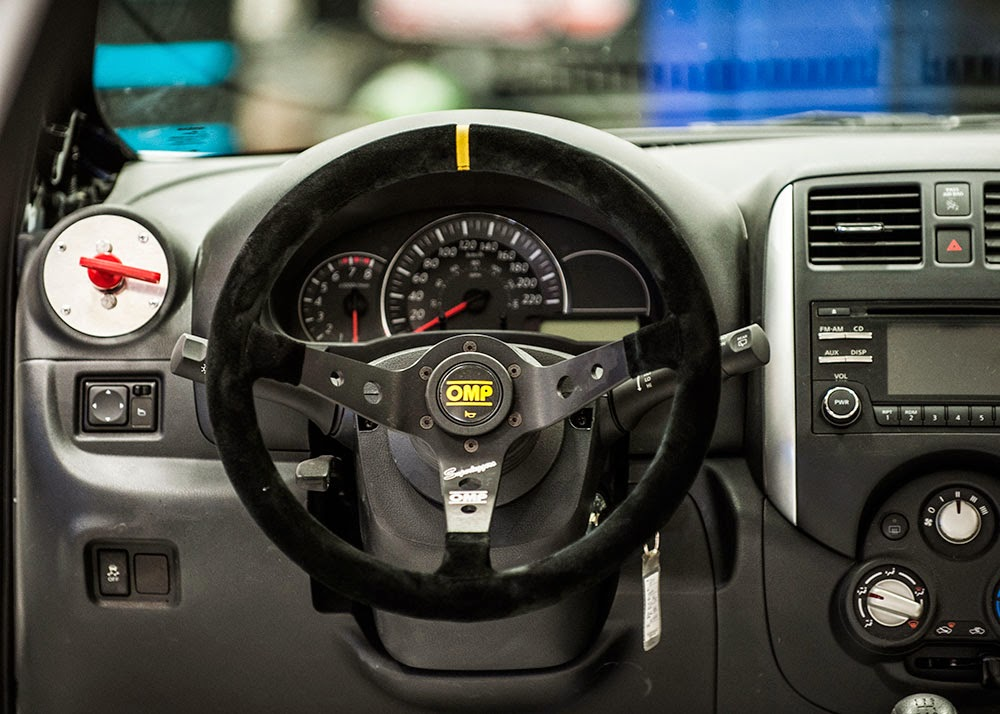 Nissan Micra Cup Car interior