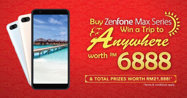 Hadiah ZenFone Max Series - CNY Buy Max & Win