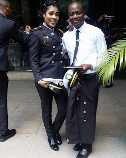 Photos: First Batch Of Nigerian Students Sent Abroad For Maritime Education During GEJ Regime Has Graduated