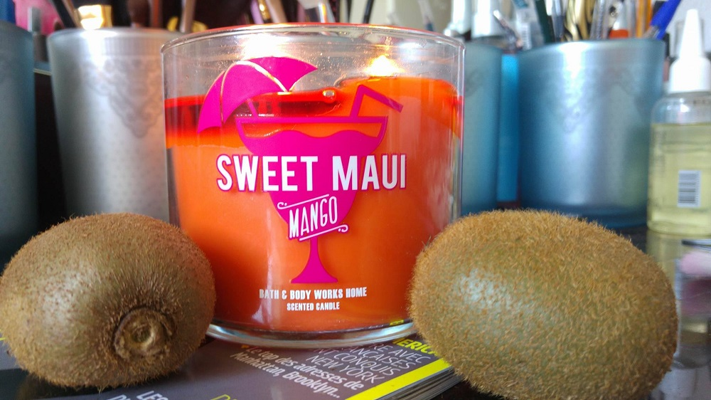 Bath and Body Works : Bougie Sweet Maui Mango