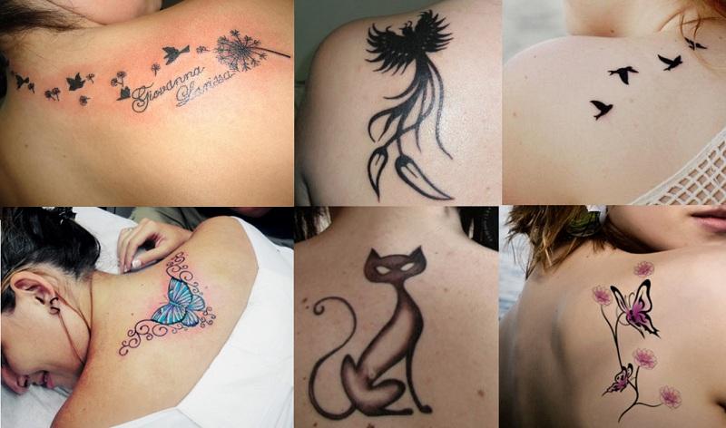Um Pouco Chamativa!: Tatuagens Femininas