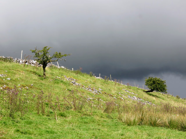 Storm brewing over Knocknashee in Sligo, Ireland