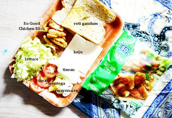 sandwich so good untuk sahur