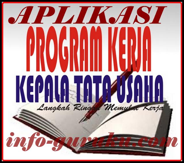 Aplikasi Program Kerja Tata Usaha Sekolah Terbaru