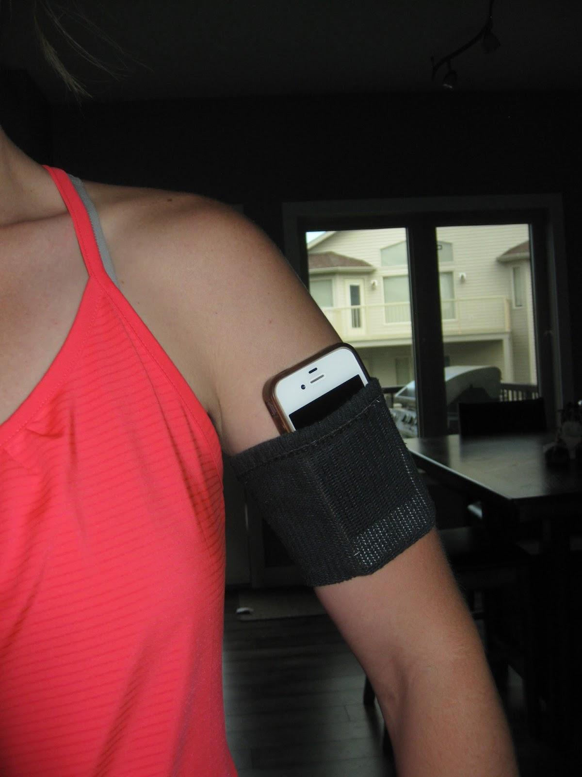crazily normal diy iphone armband. Black Bedroom Furniture Sets. Home Design Ideas