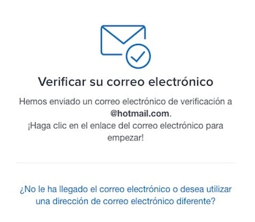 confirmar correo coinbase request