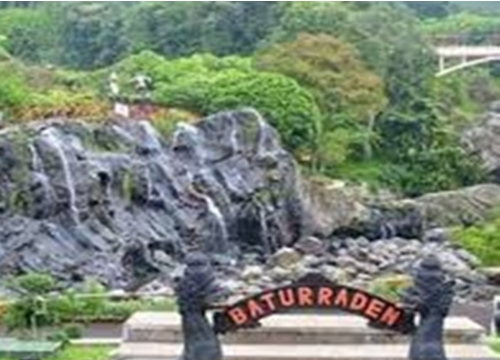Obyek Wisata Alam Baturaden Jawa Tengah