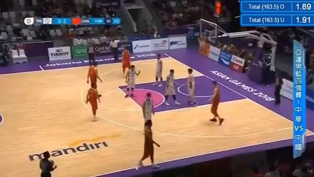 Live Streaming List: China vs Chinese Taipei 2018 ASIAD Basketball Men