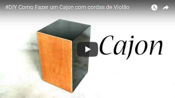 Curso completo em vídeo aula de como construir um Cajón completo de qualidade