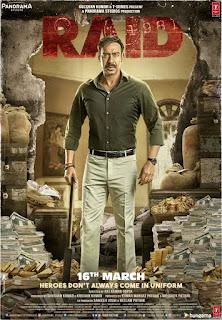 5th poster of Raid