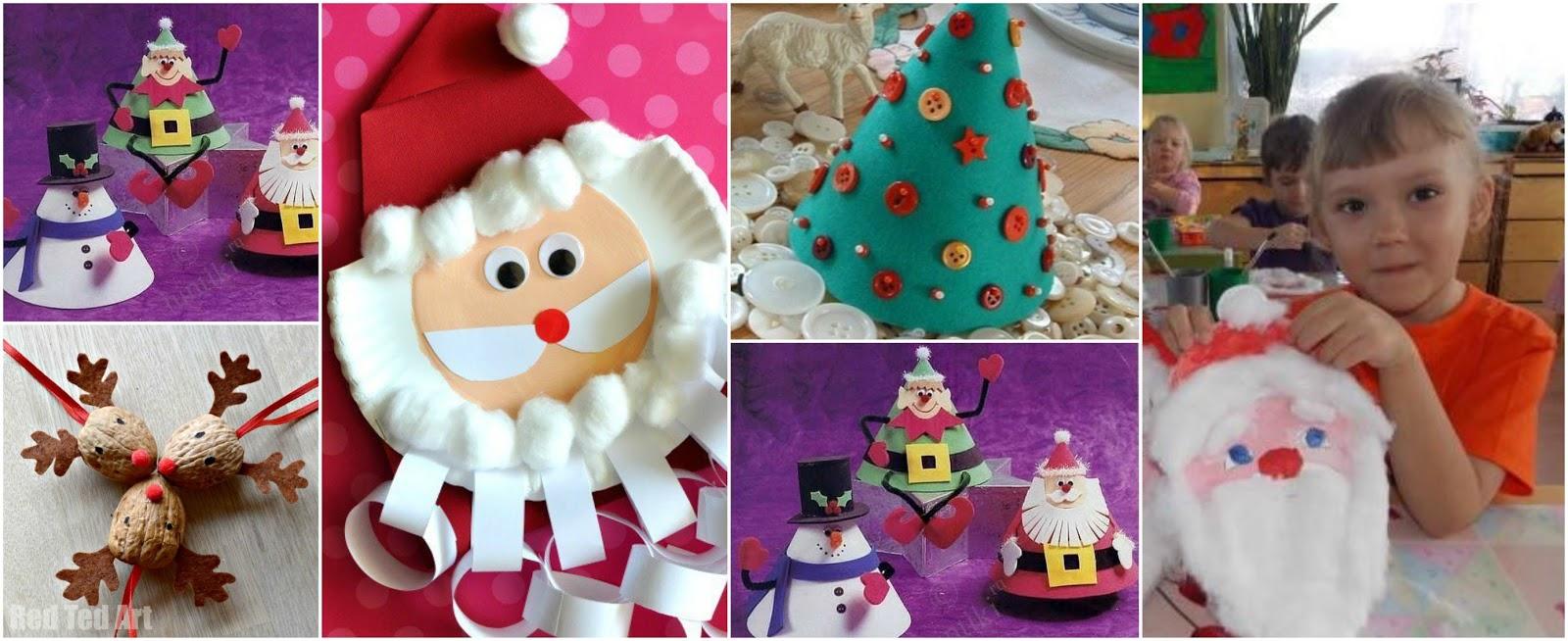 5 ideas bonitas para hacer adornos navide os con ni os - Ideas para hacer adornos navidenos ...