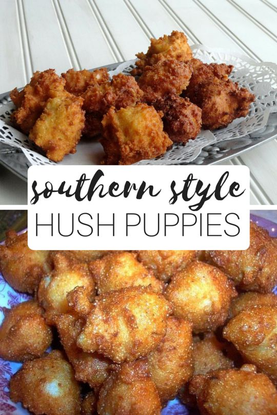 Southern Style Hush Puppies