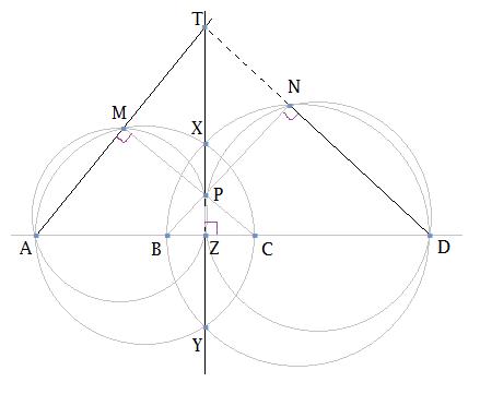 Math Garden: Radical axis and radical center