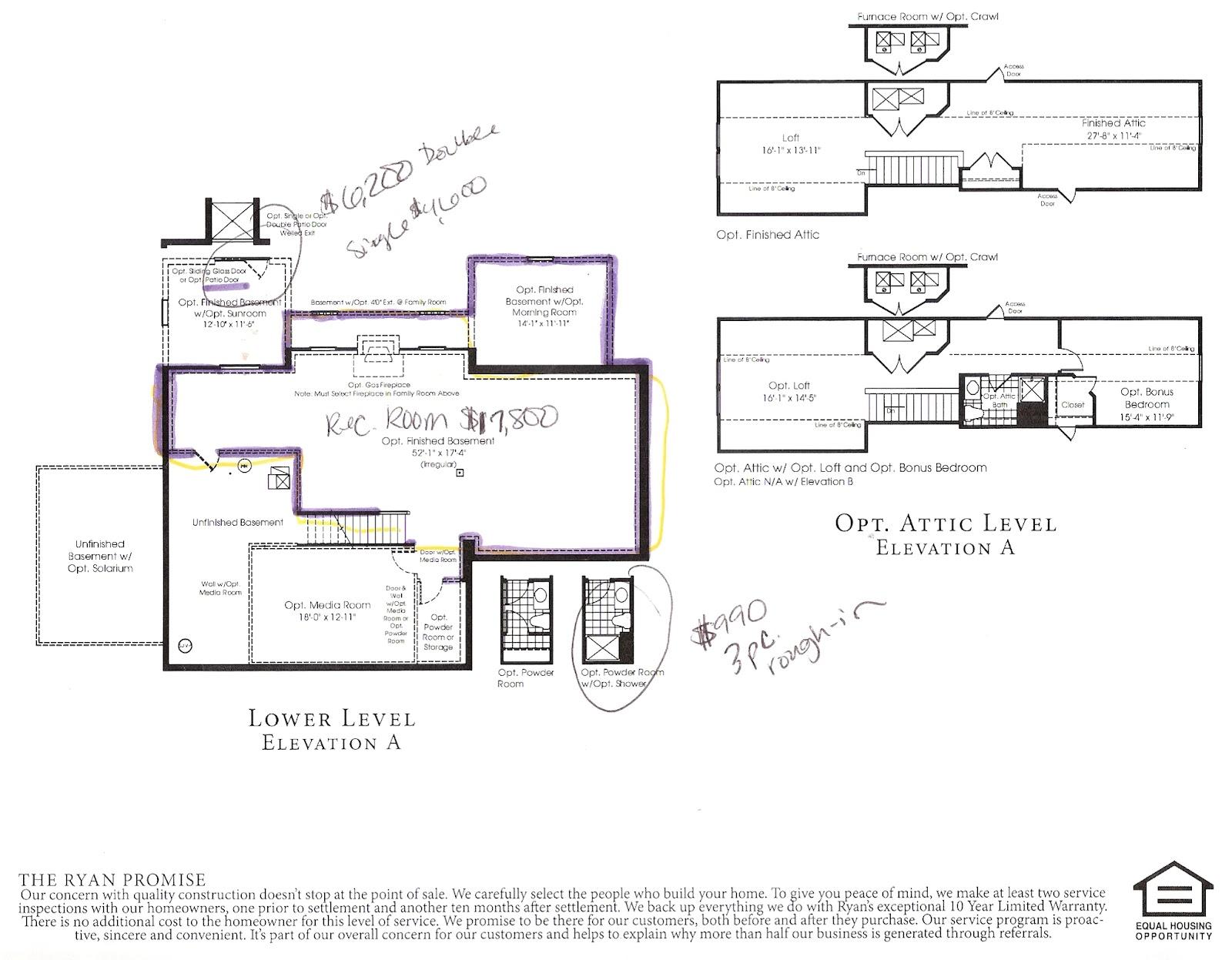William Ryan Homes Floor Plans Ryan Home Floor Plans Jefferson