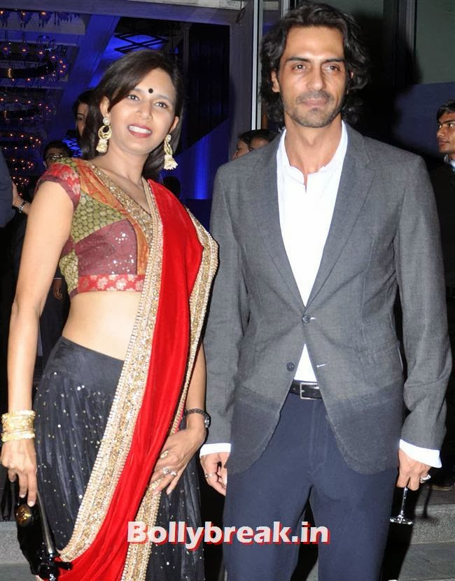 Arjun Rampal, Malaika, Chitrangada at British Airways 'Silent Picturehouse' in Mumbai