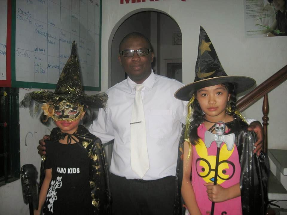 halloween tại trung tâm anh ngữ minh quang