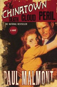 Portada de The Chinatown Death Cloud Peril, de Paul Malmont