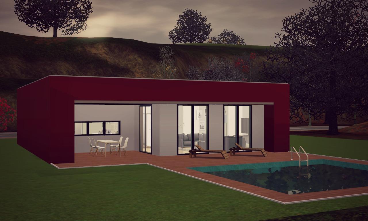 fireflycreations modern bungalow. Black Bedroom Furniture Sets. Home Design Ideas