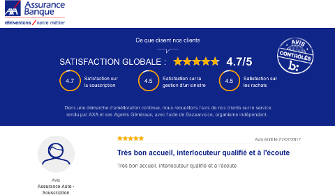 Avis clients AXA France