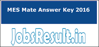 MES Mate Answer Key 2016
