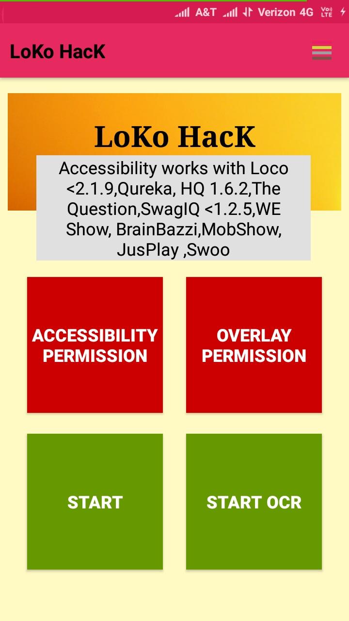 LOKO HACK 2 0 - ALL TRIVIA SOLUTIONS