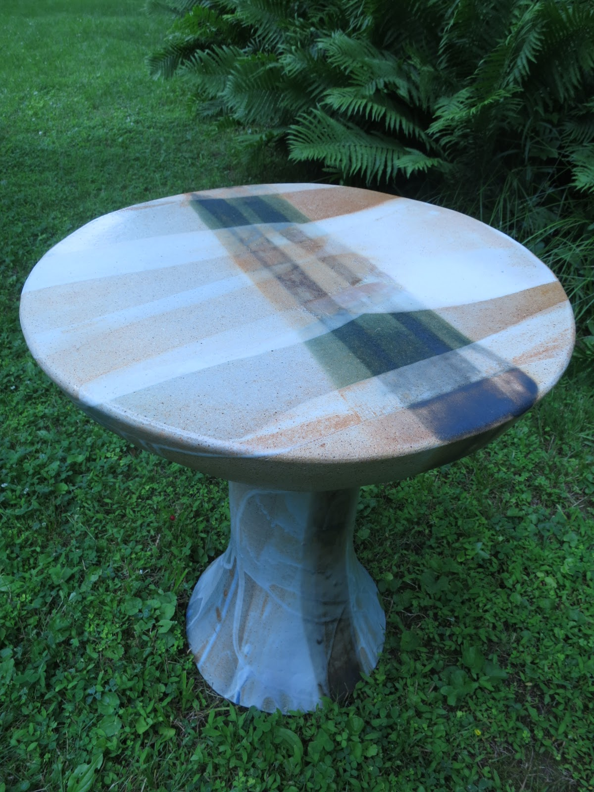 an farm ceramic garden tables