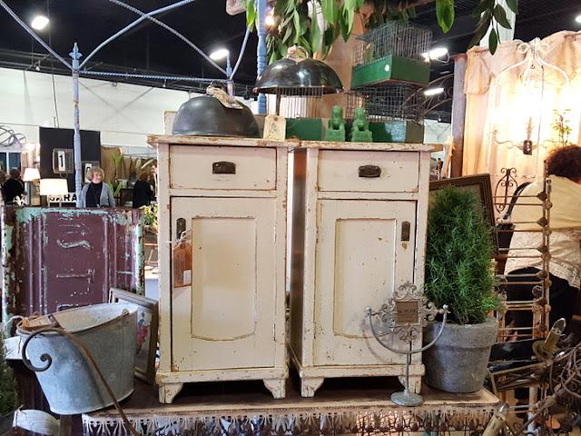 charming set of vintage end tables