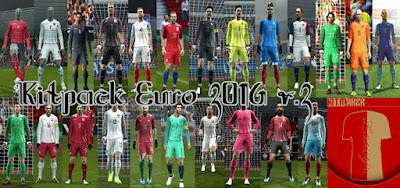 New KitPack Euro 2016 Pes 2013