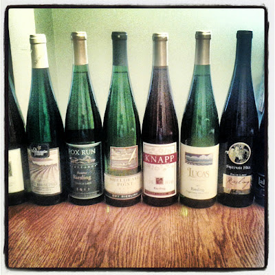2011 Finger Lakes Rieslings