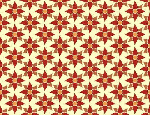 wallpaper motif bunga merah
