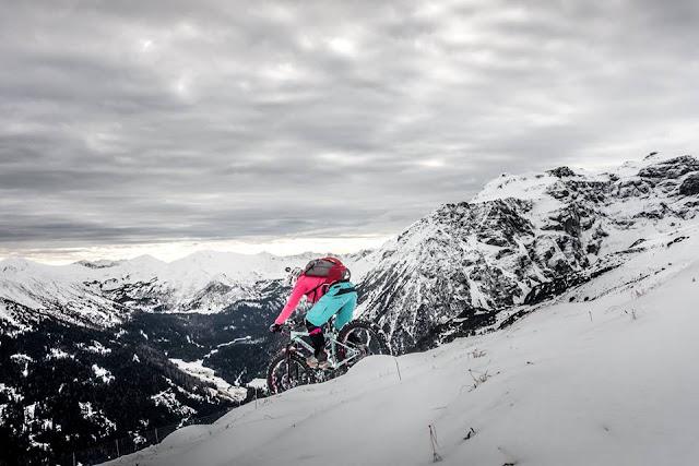 Trail Downhill Trunajoch Fatbike Mountainbike