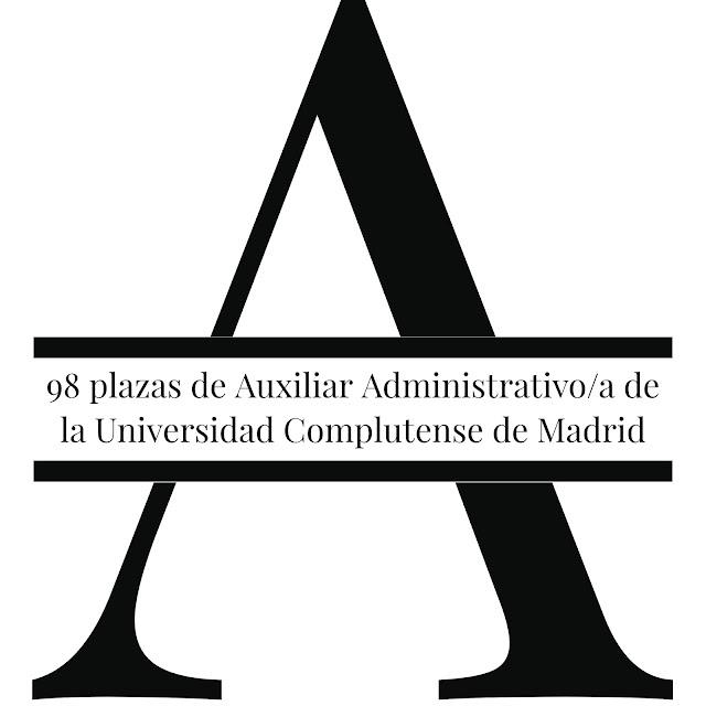 Convocatoria para auxiliar administrativo/a en Madrid | 98 plazas | UCM
