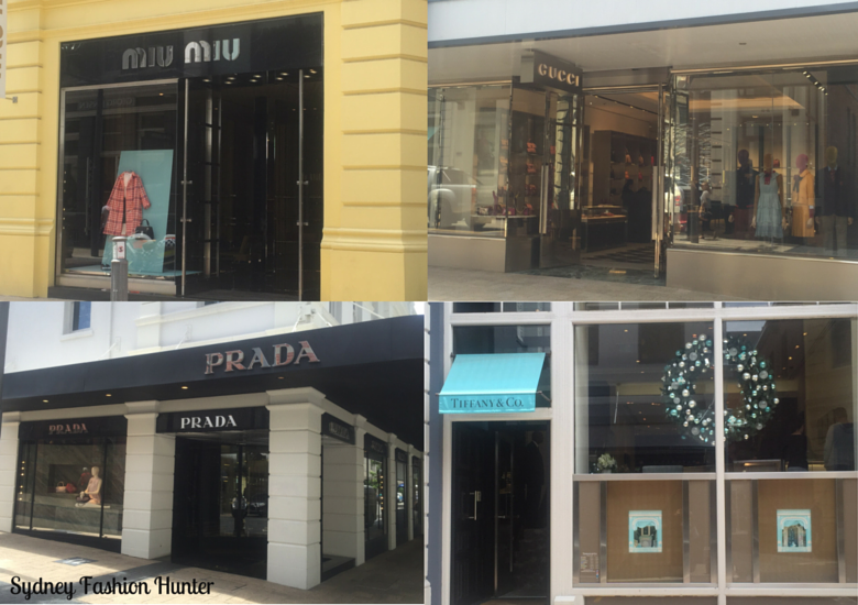 Sydney Fashion Hunter: King Street Perth Shopping: Prada, Tiffany, Gucci Mui Mui