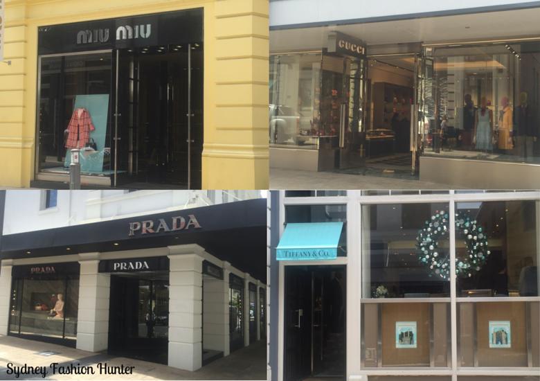 Sydney Fashion Hunter: King Street Perth Shopping: Prada, Tiffany, Gucci Mui Mui