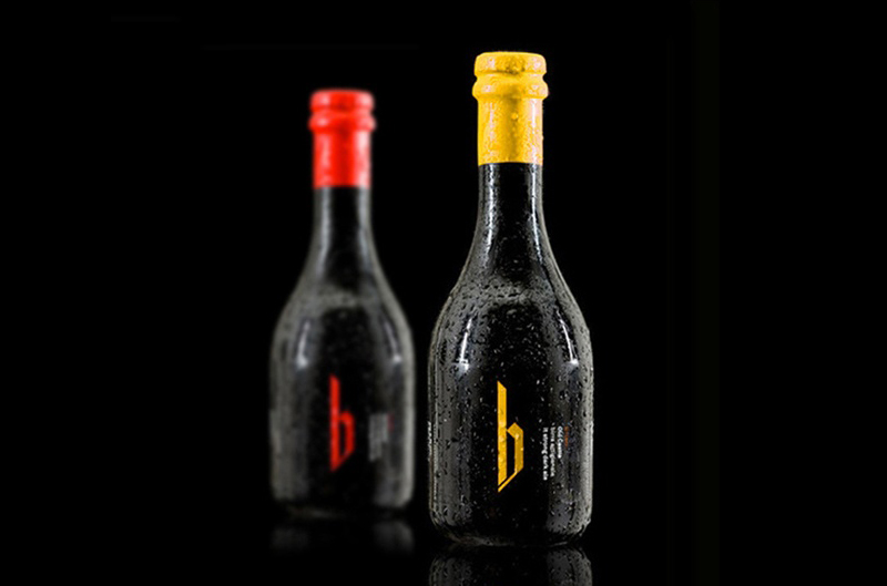 B1080 Bottles Sud Collective beer packaging
