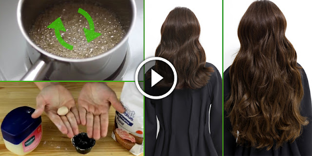 This Natural Homemade Syrup Grow Your Hair Within 10 Days!