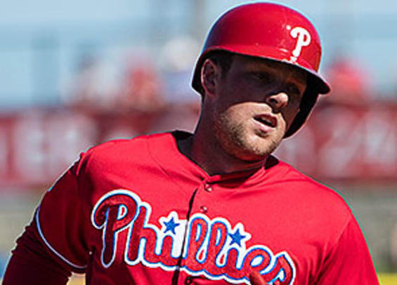 Philadelphia Phillies set to promote Rhys Hoskins