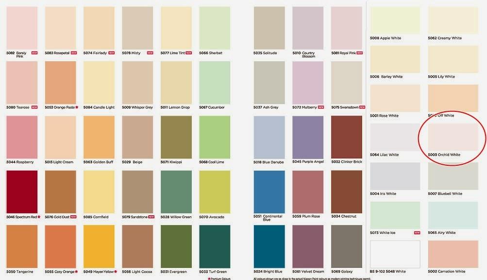 Kombinasi Warna Cat Rumah Hijau Dan Cream  terbaru 20 warna cat tembok orchid