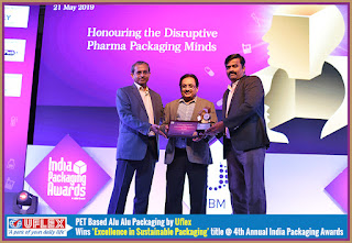 Uflex Adjudged Winner at 4th Annual India Packaging Awards