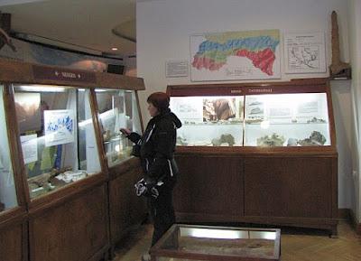 Muzeum Tatrzańskie. Ekspozycja geologiczna