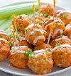 BUFFALO CHICKEN MEATBALLS - Cookies Cooking Corner