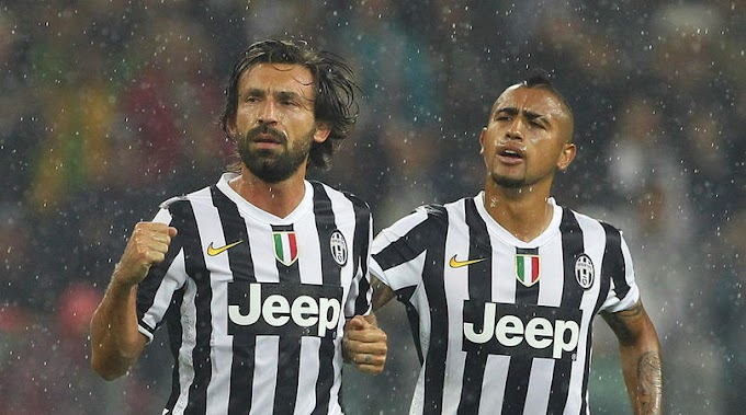 Pirlo taught Vidal how to play - Borghi