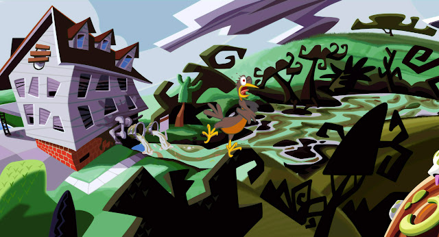 Day of the tentacle bird choking
