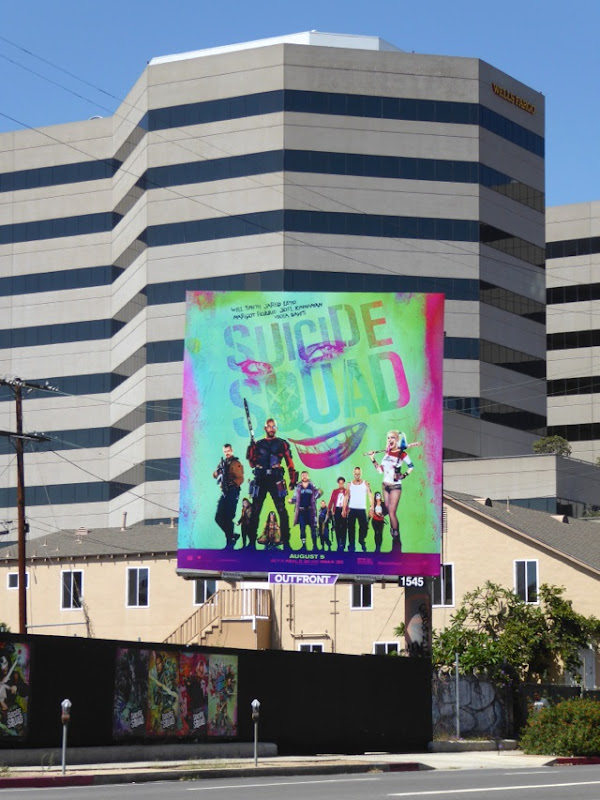 Suicide Squad film billboard
