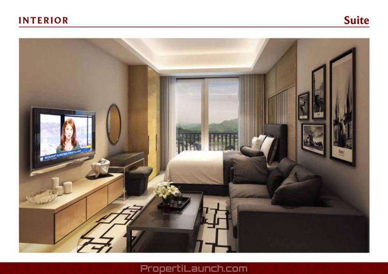 Studio Type Apartemen Saffron Sentul City